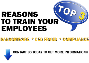 train your employees on ransomeware ceo fraud compliance - 3 reasons to train your employees