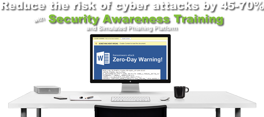 employee security training - train your users to recognize ransomware, phishing attacks, viruses, social phishing and other cybercrimes